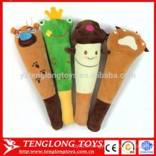 Cute cartoon knock stick plush back massage stick