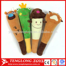 Cute cartoon knock stick plush back massage stick