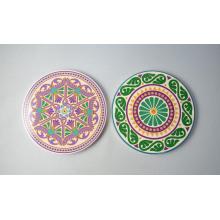 Coaster de cozinha de cerâmica para presentes de lembrança