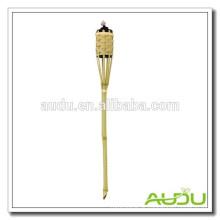 Audu Garten Natur Material Outdoor Bambus Fackel / Bambus Fackel Kraftstoff