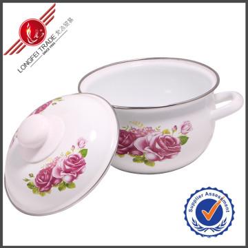 Eco-Friendly Enamel Cooking Pot /Kitchenware