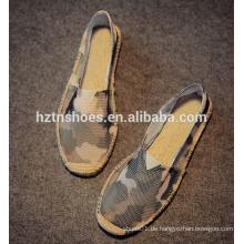 Tragbare Männer camo beiläufige Schuhe Männer Segeltuchschuhe