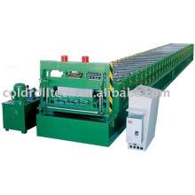 Bau-Metallplattform-Rolle, die Maschine bildet