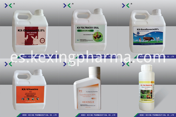 Levamisole 3% And Oxyclozanide 6% Suspension