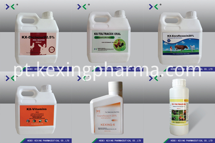 Enrofloxacin Oral Solution 20%