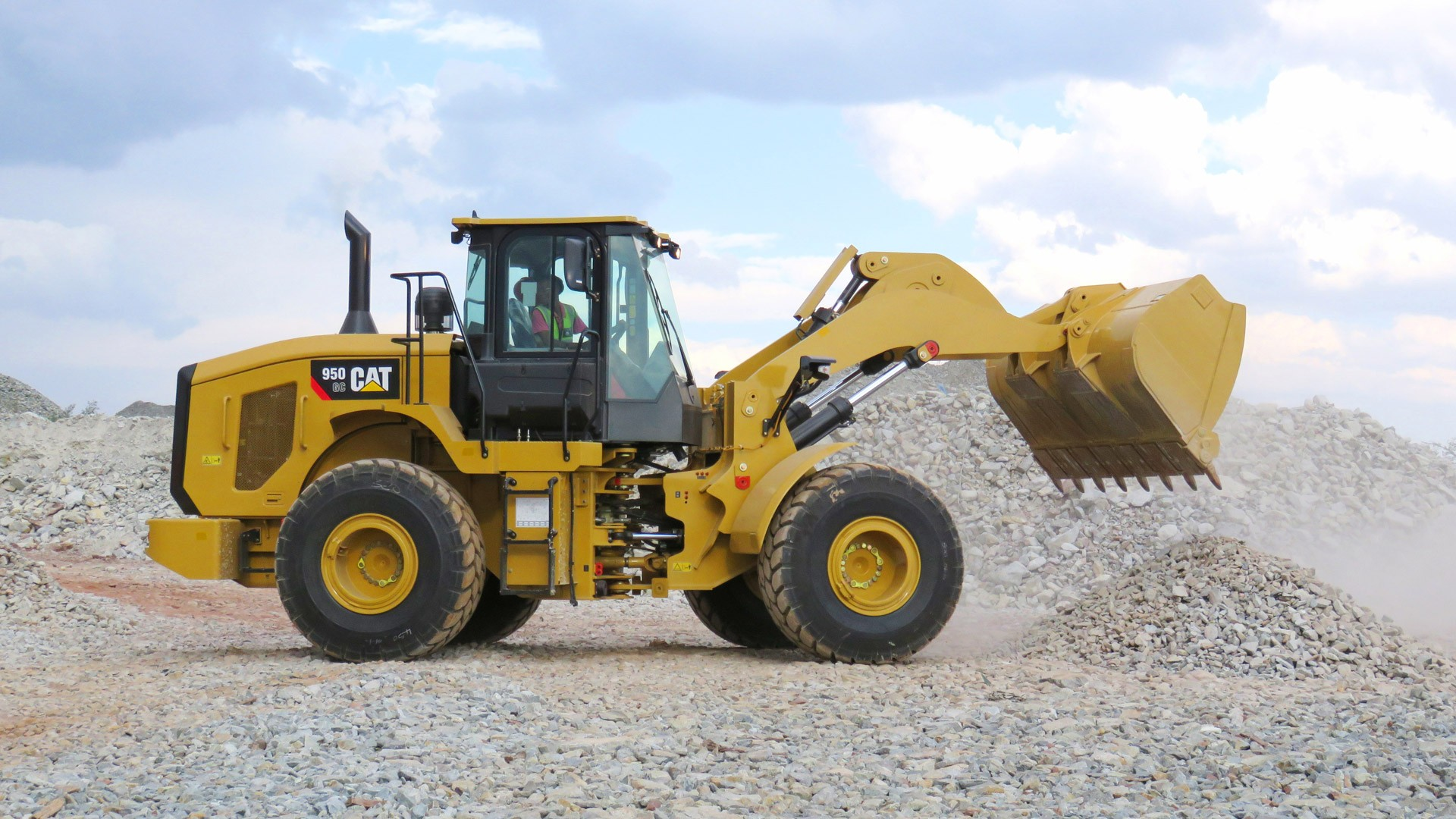 950GC 5 ton front-end shovel wheel loader