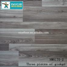 NWseries Três partes de ginkgo Revestimento de madeira do parquet HDF núcleo Parquet Revestimento
