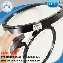 Black Chemigum G Type R35 R37 Shaft Seal Ring