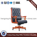 Wooden High Back Leather Executive Boss Office Chair (HX-CR031)