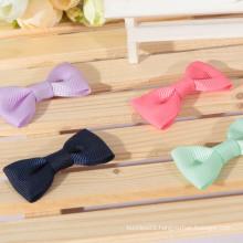 Hot sale colorful satin ribbon bows