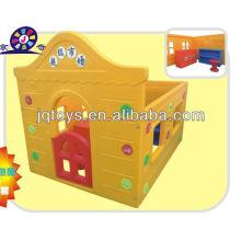 Crianças plástico play house brinquedo supermercado