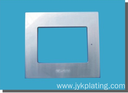 Electronic book shell plating processing