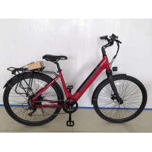 36V 250W Ladies Electric Bikes Alloy Aluminum 700c 26inch