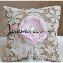 las ventas calientes Europa diseñan las almohadillas del portador de anillo / los favores de la boda / los sistemas de la boda
