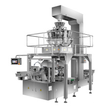 Automatic Premade Pouch Food Packaging Machine For Seed Plantain Chips Snack Rice Nuts
