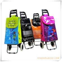 Bolso de la carretilla de las compras de dos ruedas para los regalos promocionales (HA82006)