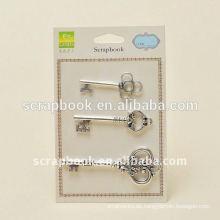 Antike Schlüsselanhänger Bulk Metal Charme