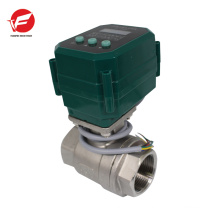 304/UPVC electric solenoid gas shut off valve drive for swimming pool