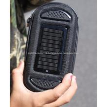 Bolso de carregador solar de alto-falante