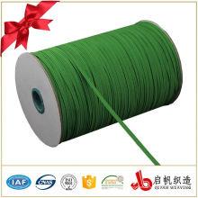 Buntes flaches starkes gewebtes elastisches geflochtenes elastisches Band
