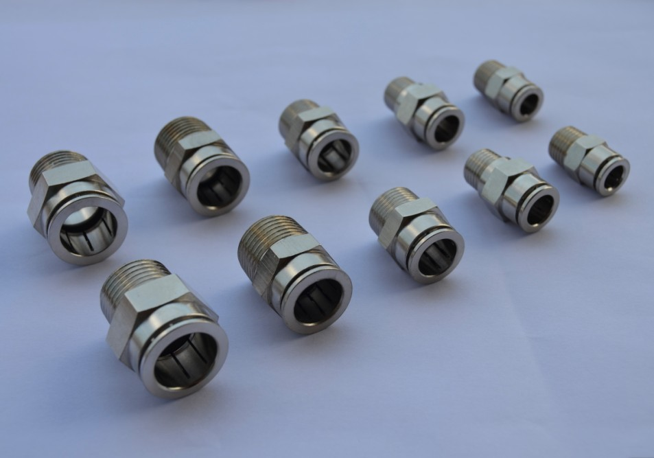Air fluid metal pneumatic fittings mm quot bspt china