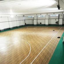 Plancher de PVC d'Apperance en bois pour le basket-ball