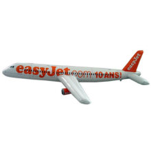 OEM Logo PVC Advertising Promotional Inflatable Airplane Aircraft Plane Toy