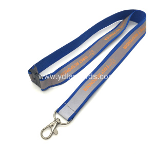 Cheap Worker's Card Safety Reflective Lanyards