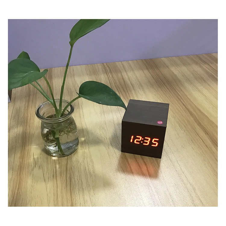Wood Led Clock 101 8