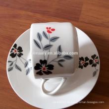 excelente taza de té y platillo para el hogar