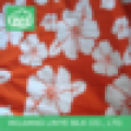100% polyester printed microfiber brushed peach skin fabric
