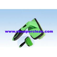 Nonslip Handle Car Auto Wheel Detail Cleaning Brush (CN1860)