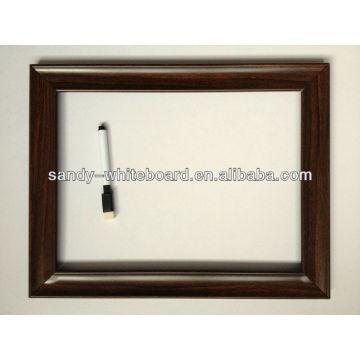 Whiteboard magnético OEM com quadro de 20 * 30cm PS