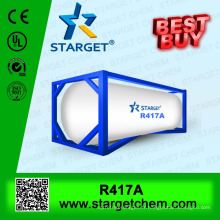 13.6kg Gaz réfrigérant r417a dans un cylindre de 30lb