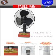 Ventilador de mesa para el hogar Modelo No. Ft40-17