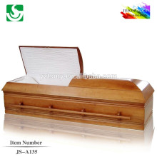 Specialized American style wholesale hot sale oak caskets