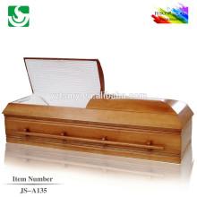 Especializados caixões de atacado Venda quente Carvalho estilo americano