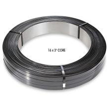дешевые стальной ленты / стальная упаковочная лента с черным покрашенным