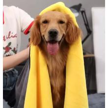 Super absorção de água cão gato toalha de banho para animais de estimação