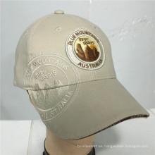 (LPM16008) Bordado construido promocional del béisbol gorras bordadas