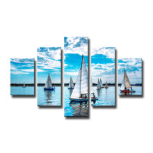 Wholesale Boat Canvas Prints Home Decoration