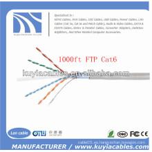 1000FT / 305M FTP Cat6 Cable de red
