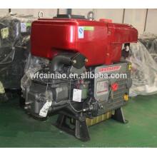 cilindro solo del motor diesel de la venta caliente hecho en China, motor diesel auto de la buena calidad