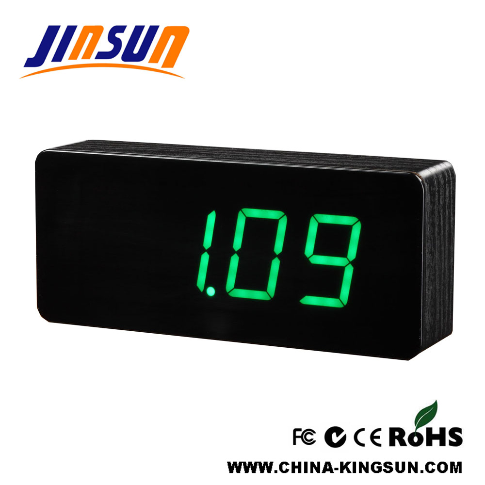 Alarm Clock With Temperature Display
