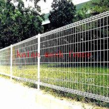 grosses soldes!!!!! Anping KAIAN galvanisé blanc vinyle revêtu de clôture en fil soudé