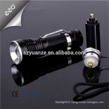 hot sale led torch, most powerful led flashlight torch