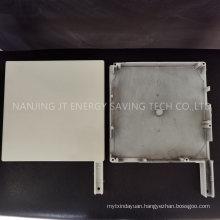 Window Blind Accessories/Roller Shutter Component, 90 Degree Aluminium End Caps