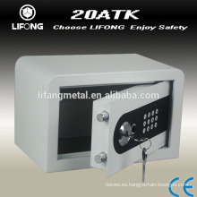 Electronic secret metal box with lock