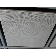 Malla metálica perforada para techos
