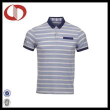 Hochwertige Mode Striped Herren Polo Shirts 2016
